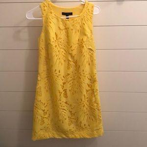 Banana Republic Yellow Shift Dress